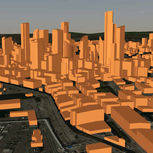 3D Buildings Image