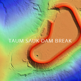 Image Taum Sauk Dam break - Link to Rapid Response Case Study