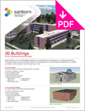 Image of 3D Buildings Product Sheet