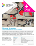 Image of Change Detection Product Sheet