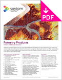 Image of Forestry Product Sheet