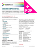 Image of GSA Advantage Product Sheet