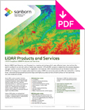 Image of Aerial LiDAR Product Sheet