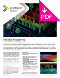 Image of Mobile LiDAR Product Sheet
