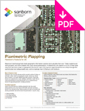 Image of Planimetric Mapping Product Sheet