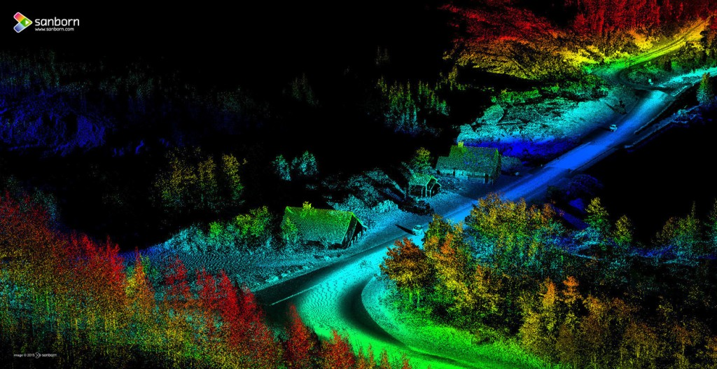 MOBILE LIDAR Glacier National Park