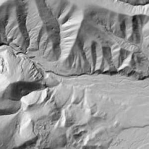 LiDAR - Digital Elevation Model 1st / Last Return - Story, WY