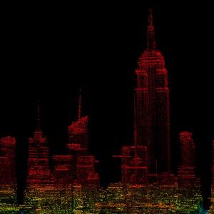 LiDAR Point Cloud - New York City, NY