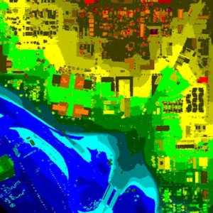 LiDAR Map - Intensity, Elevation, Bare Earth Imagery - Denver, CO