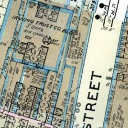 Fire Insurance Maps Sample Image