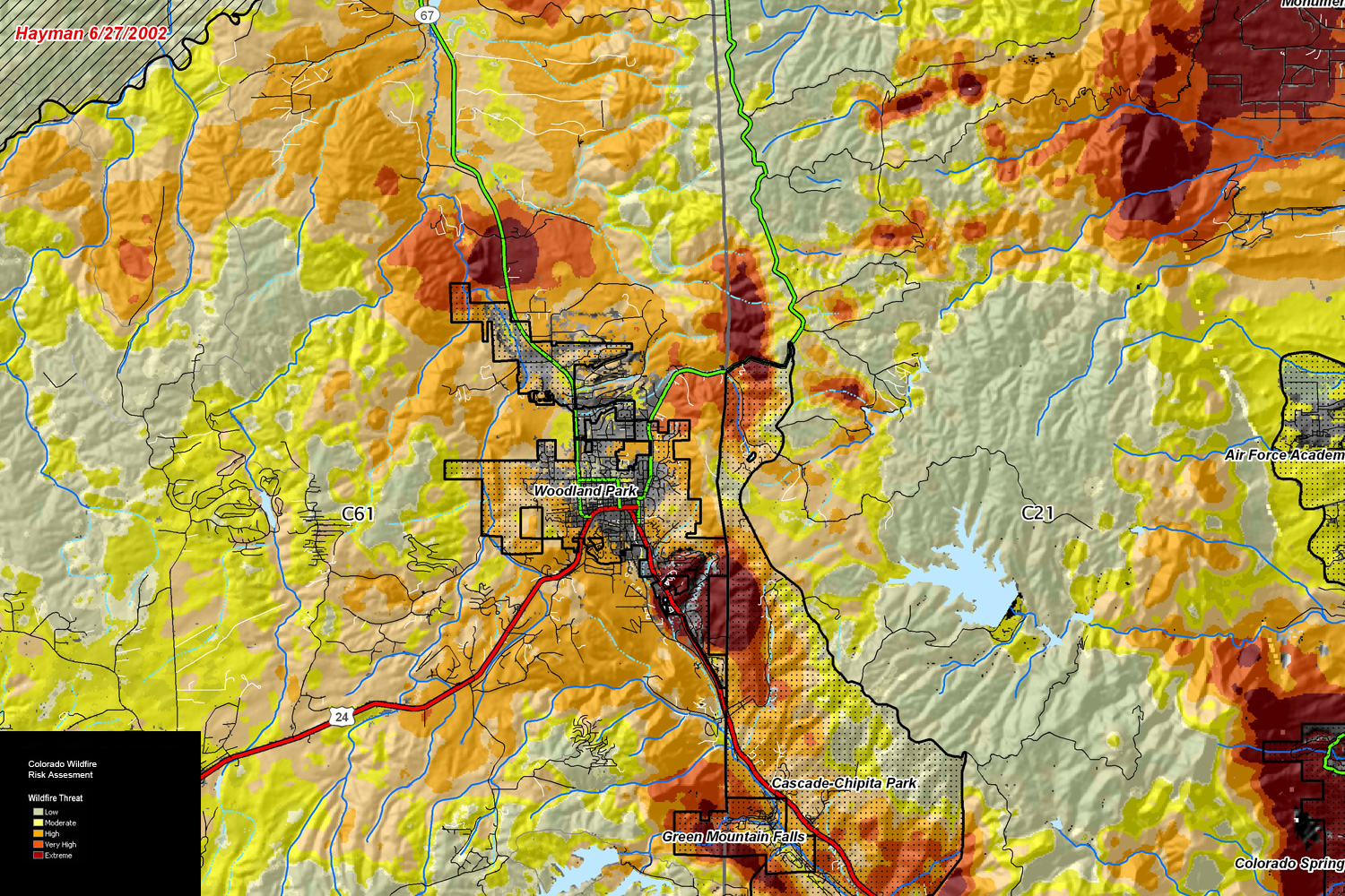 Sample Image Western Colorado Wildfire Risk Assessment Program