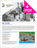 Image of 3D Cities Product Sheet