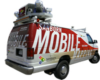 Sanborn Mobile Mapping Van
