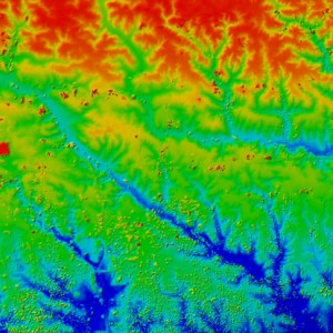 LiDAR Elevation Data - Iowa