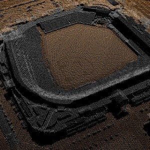 LiDAR Point Cloud - Coors Field - Denver, CO