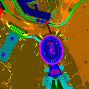 Aerial LiDAR - Kennedy Int'l Airport - New York City, NY